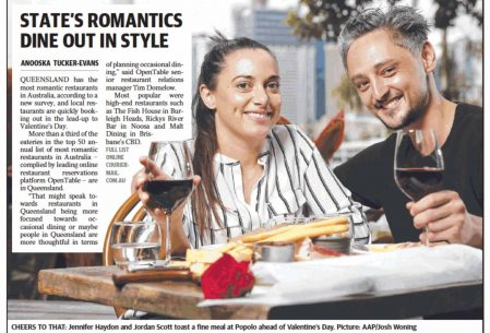 Most popular Gold Coast Restaurant – Courier Mail